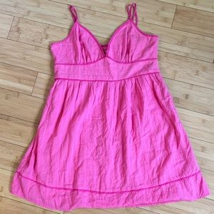 Forever 21 juniors size L pink summer dress